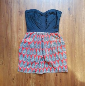 Bustier Mini Dress with Pockets!